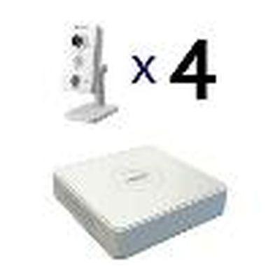 Безопасник AC IP 4-1 Комплект видеонаблюдения 1Мпикс