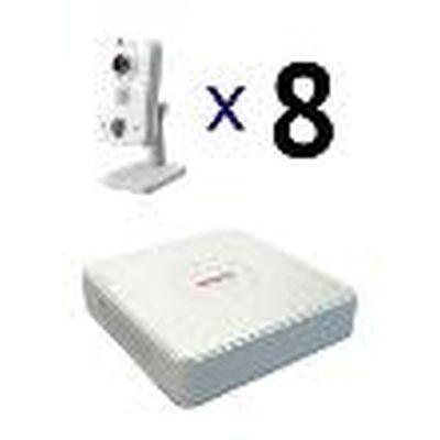 Безопасник AC IP 8-1 Комплект видеонаблюдения 1Мпикс
