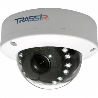 Trassir TR-D3111IR1 2.8 (ActiveCam AC-D3111IR1 2.8) купольная вандалозащищенная 1,3Мп IP-камера