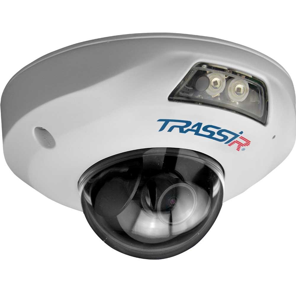 Trassir TR-D4121IR1 2.8 v4 купольная вандалозащищенная 2Мп IP-камера