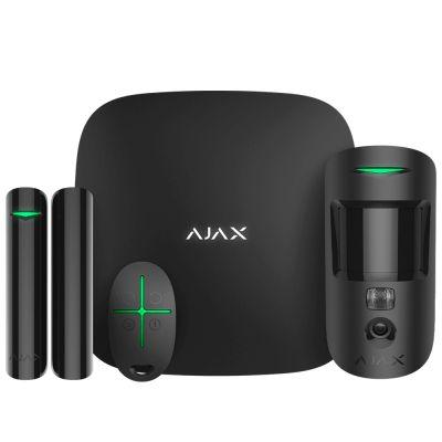 AJAX 16582.42.BL1 HubKit Cam (StarterKit Cam) черный