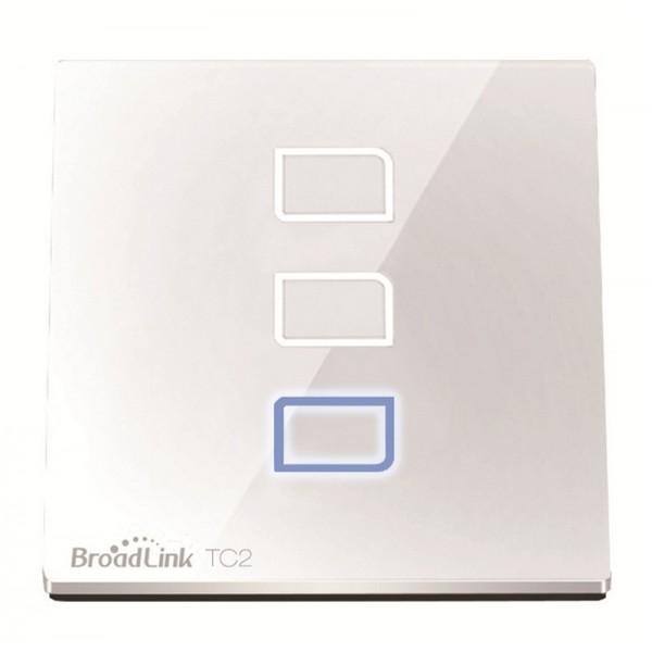 Broadlink TC2 Сенсорный выключатель на 3 зоны Wall Light Switch 3-Gang
