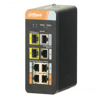 Dahua DH-PFS4207-4GT-DP 7-х портовый PoE коммутатор