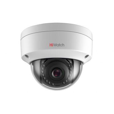 HiWatch DS-I102 (2.8 mm) купольная 1Мп IP-камера