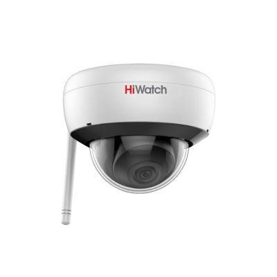 Hiwatch DS-I252W (2.8 mm) Wi-Fi купольная 2Мп IP-камера