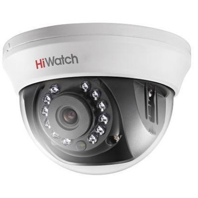HiWatch DS-T101 (2.8 mm) купольная 1Мп HDTVI камера