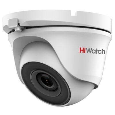 HiWatch DS-T123 (3.6 mm) сферическая 1Мп HDTVI камера