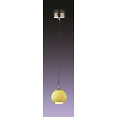 Odeon Light 1343/G Подвес Цвет: матовый никель/зелёный