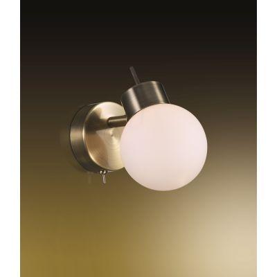 Odeon Light 2071/1W Подсветка с выключателем Цвет: бронза