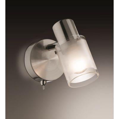 Odeon Light 2175/1W Подсветка с выключателем Цвет: матовый никель
