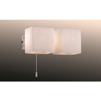 Odeon Light 2183/2W Настенный светильник с выключателем Цвет: хром