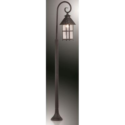 Odeon Light 2314/1F Уличный светильник, высота 150 см Цвет: коричневый