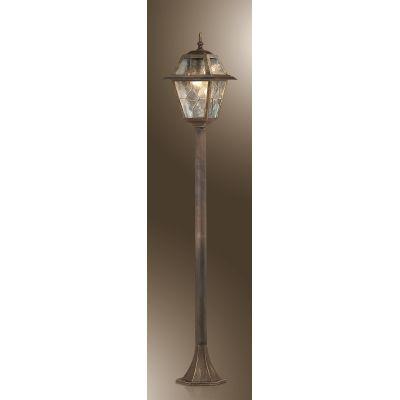 Odeon Light 2318/1F Уличный светильник, высота 150 см Цвет: бронза