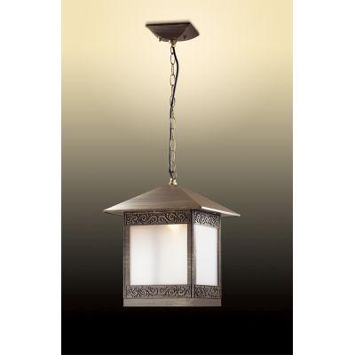 Odeon Light 2644/1 Уличный светильник-подвес Цвет: коричневый/пластик антивандальный