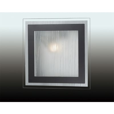 """Odeon Light 2736/1W Настенно-потолочный светильник Цвет: """"венге""""/стекло"""