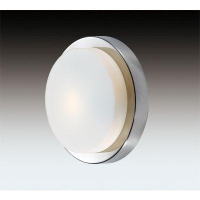 Odeon Light 2746/1C Настенно-потолочный светильник влагозащищённый Цвет: хром/стекло