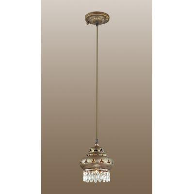 Odeon Light 2841/1 Подвес Цвет: коричневый с патиной