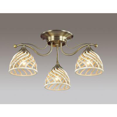 Odeon Light 3199/3C Люстра потолочная Цвет: бронзовый