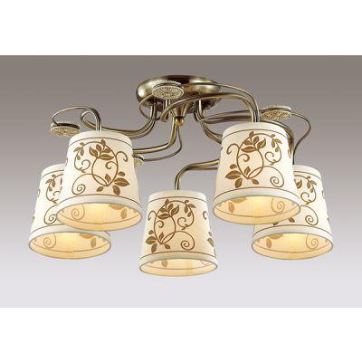 Odeon Light 3216/5C Люстра потолочная Цвет: бронзовый