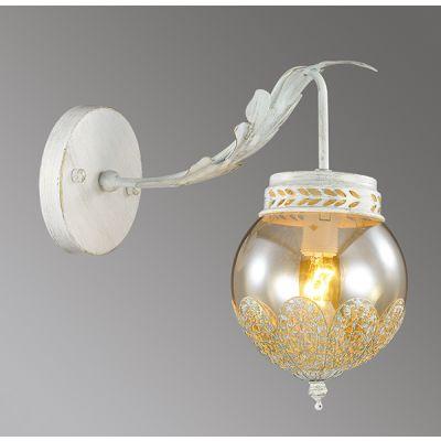 Odeon Light 3282/1W Бра Цвет: белый с золотой патиной