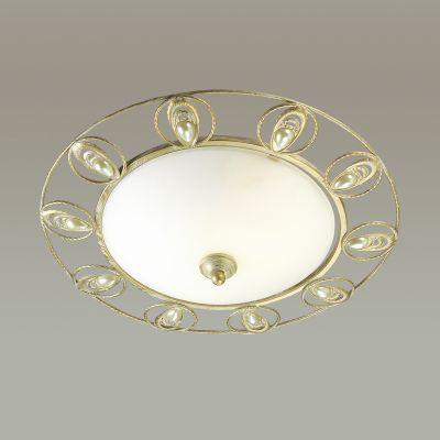 Odeon Light 3483/2C Торшер Цвет: белый/золотая патина