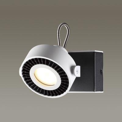 Odeon Light 3490/1W Настенный светильник Цвет: белый с черным
