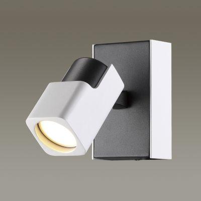 Odeon Light 3491/1W Настенный светильник Цвет: белый с черным