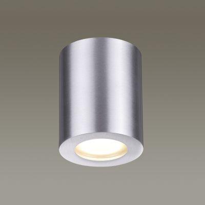 Odeon Light 3570/1C Потолочный накладной светильник Цвет: матовый алюминий