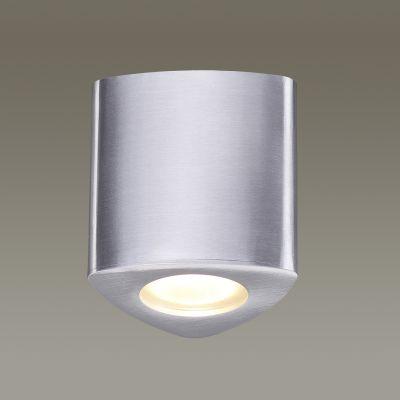 Odeon Light 3573/1C Потолочный накладной светильник Цвет: матовый алюминий