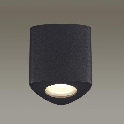 Odeon Light 3575/1C Потолочный накладной светильник Цвет: черный