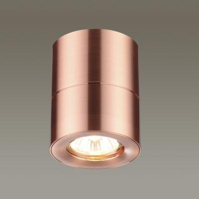 Odeon Light 3586/1C Потолочный накладной светильник Цвет: медный матовый