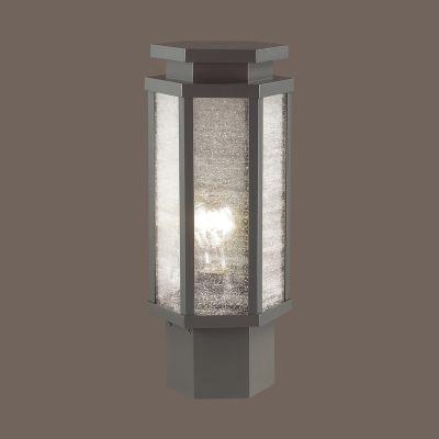 Odeon Light 4048/1B Уличный светильник на столб Цвет: темно-серый/белый