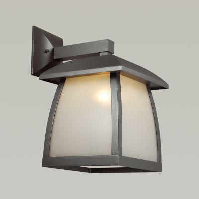 Odeon Light 4050/1W Уличный настеный светильник Цвет: темно-серый/матовый белый