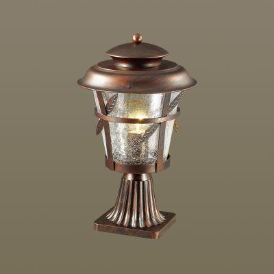 Odeon Light 4052/1B Уличный светильник на столб Цвет: коричневый