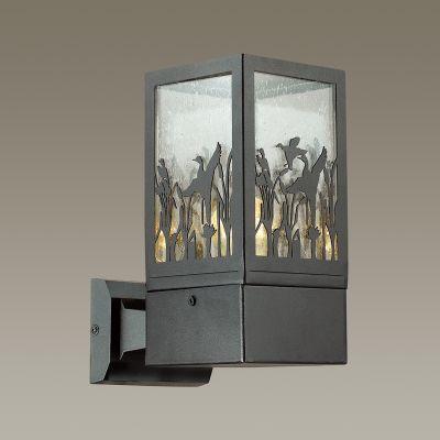 Odeon Light 4053/1W Уличный настеный светильник Цвет: коричневый