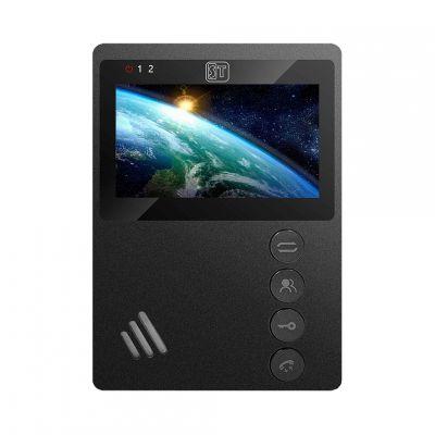 ST-M101/4 (М) ЧЕРНЫЙ видеодомофон